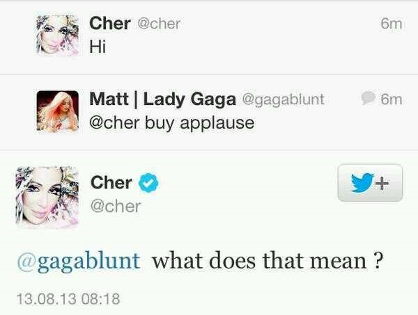 Cher Applause