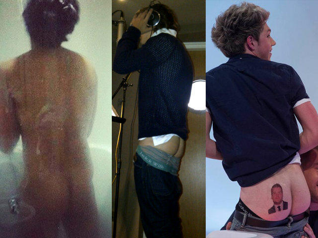 one direction ass culi