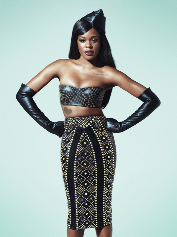 Azealia-Banks-for-W-magazine-wearing-Versace