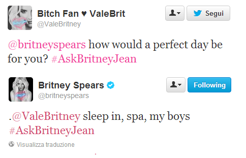 Britney Spears Q&A