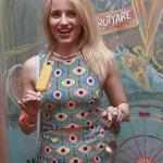 Dianna-Agron-indulged-treat-Fruttare-event
