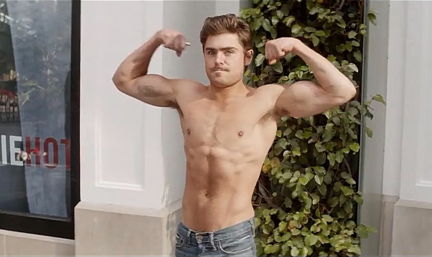 ZAC efron anked hot trailer neightbors