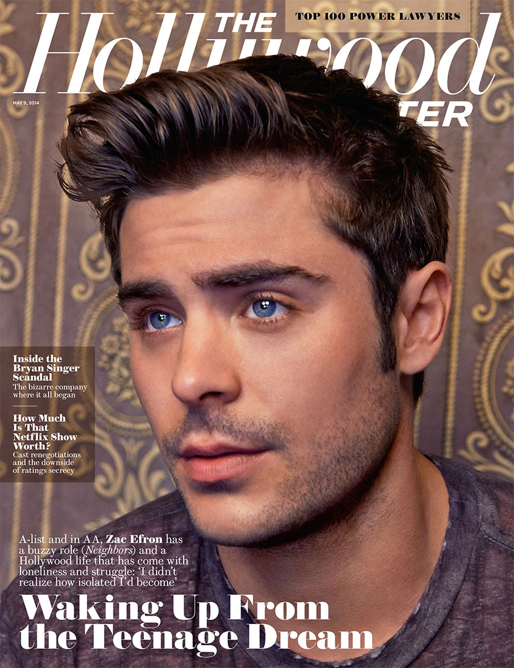 zac efron cover the hollywood reporter