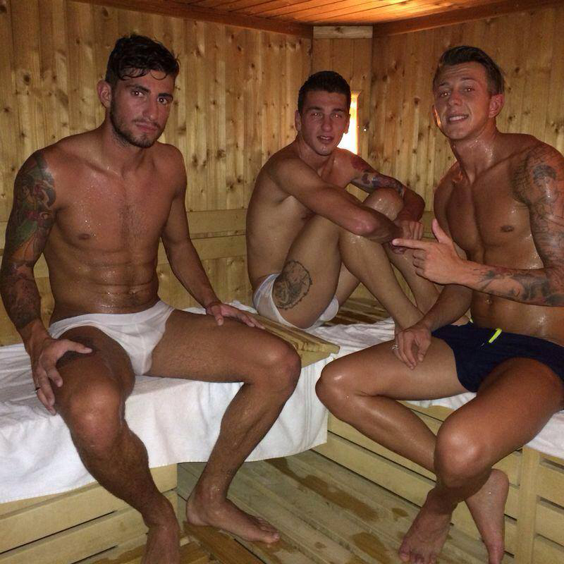 calciatori sexy sauna fiorentina gay hot