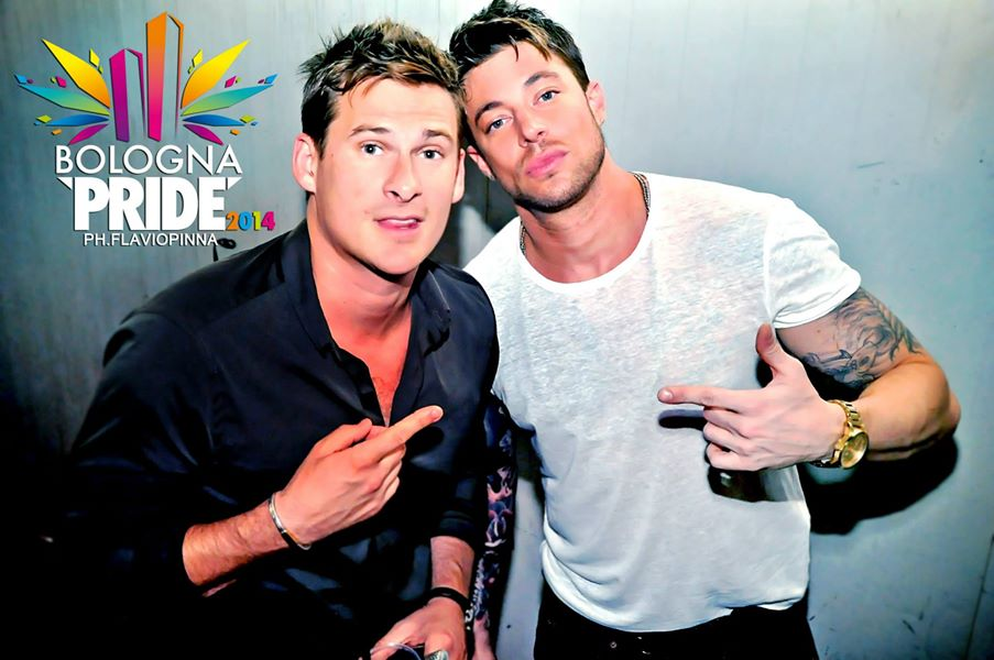 lee ryan duncan james gay pride bologna pride