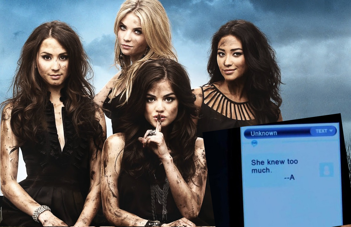 pretty little liars a sms funny