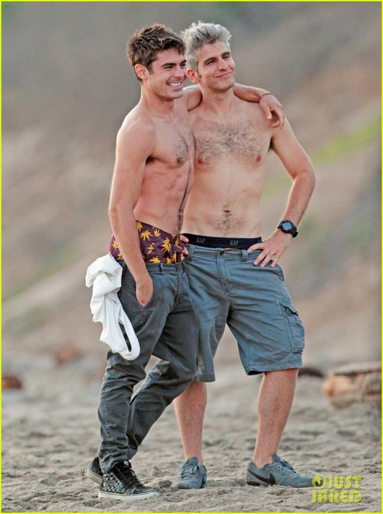 Zac Efron On The Set Of 'We Are Your Friends'