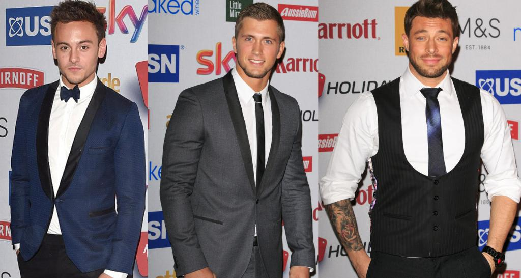 gay sex tom daley dan osborne blue duncan james attitude