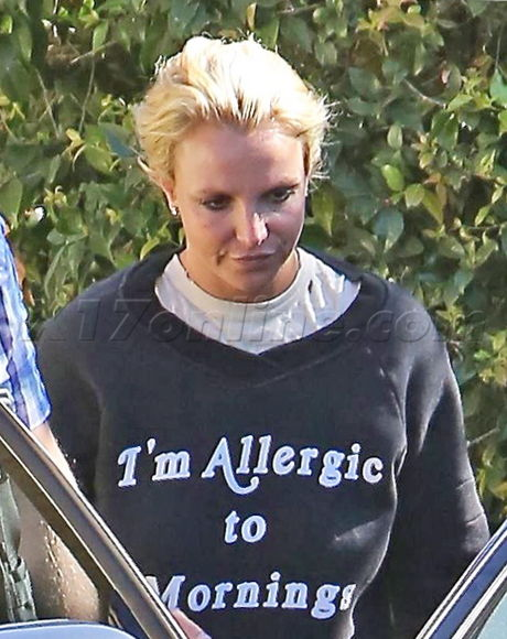 Britney Spears would rather be sleeping