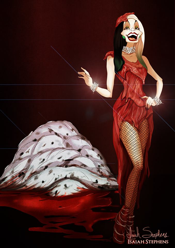 lady gaga crudelia demon cattivi disney