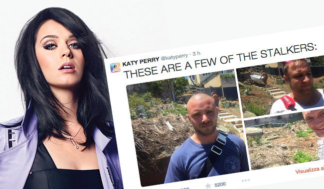 Katy Perry stalker stalking xxx