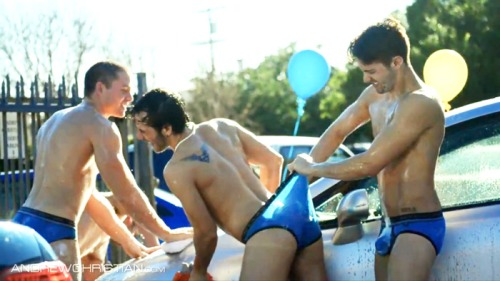 Andrew Christian Car Wash (5)
