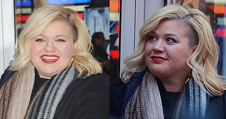Kelly Clarkson fat omg face big