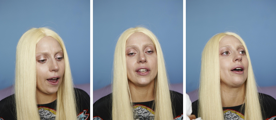 Lady Gaga Versace Outtakes