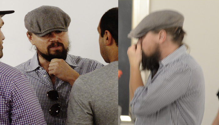 Leonardo Di Caprio at Art Basel