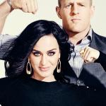 Katy Perry and J.J. Watt for ESPN Magazine (2)