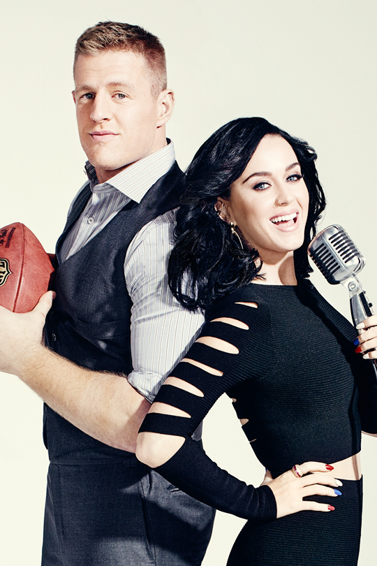Katy Perry and J.J. Watt for ESPN Magazine (7)