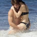 Miley Cyrus hot sea beach bikini patrick