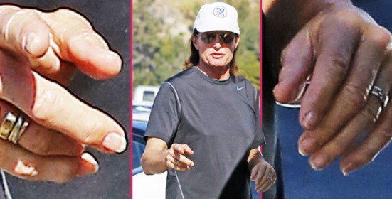 Bruce Jenner buys a paddle board at a local surf shop in malibu, CA