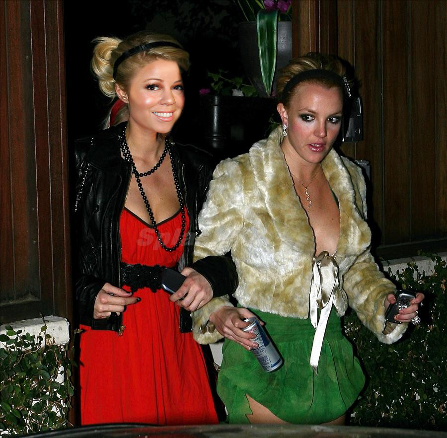Britney learns how to party from Paris