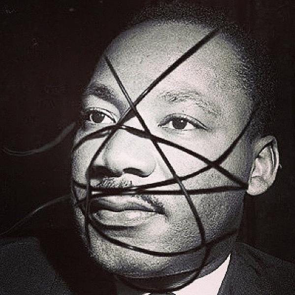 martin luther king rebel heart Madonna
