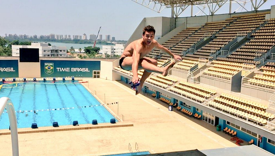 tom daley rio 2016