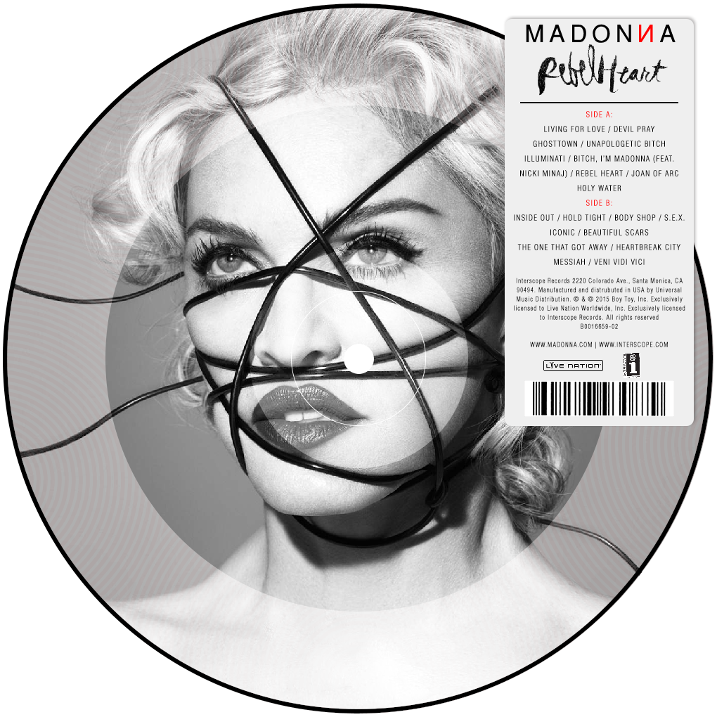 Madonna Rebel Heart Vinile