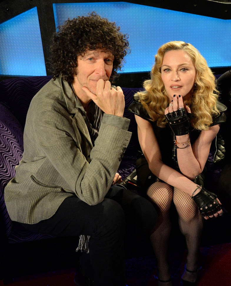 Madonna Live On The Howard Stern Show On Howard Stern's Exclusive SiriusXM Channel Howard 100