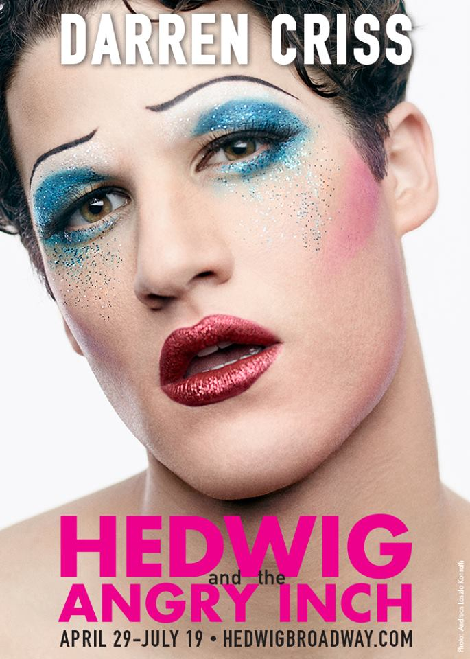 Hedwig and the Angry Inch darren criss