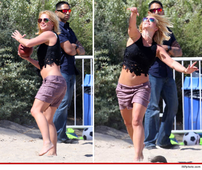 Britney Spears Football (1)