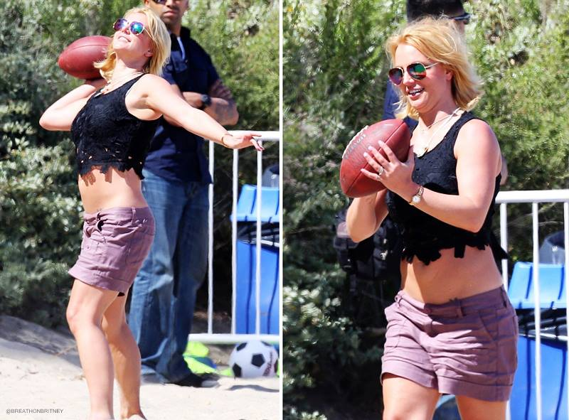 Britney Spears Football (2)