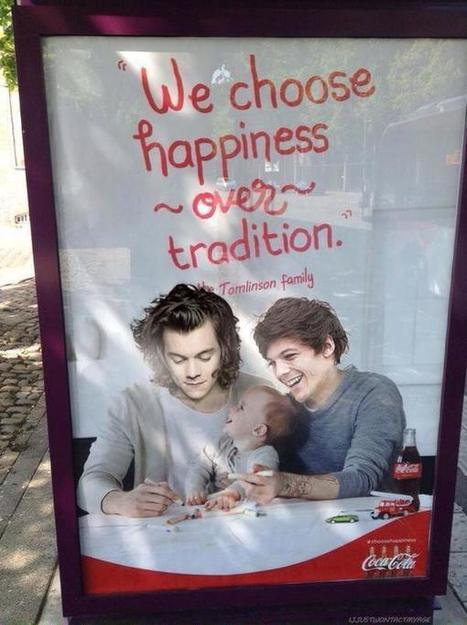 Coca Cola gay one direction Larry Stylinson