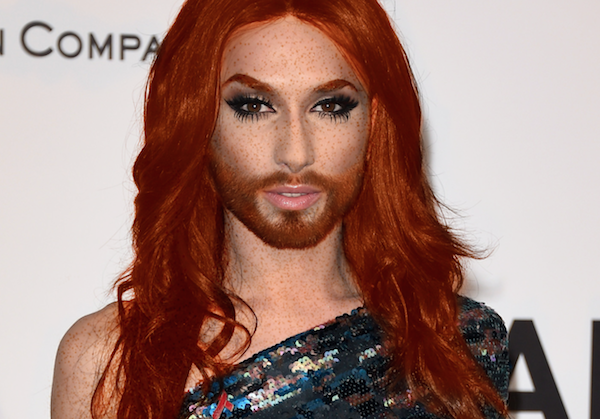 conchita wurst red