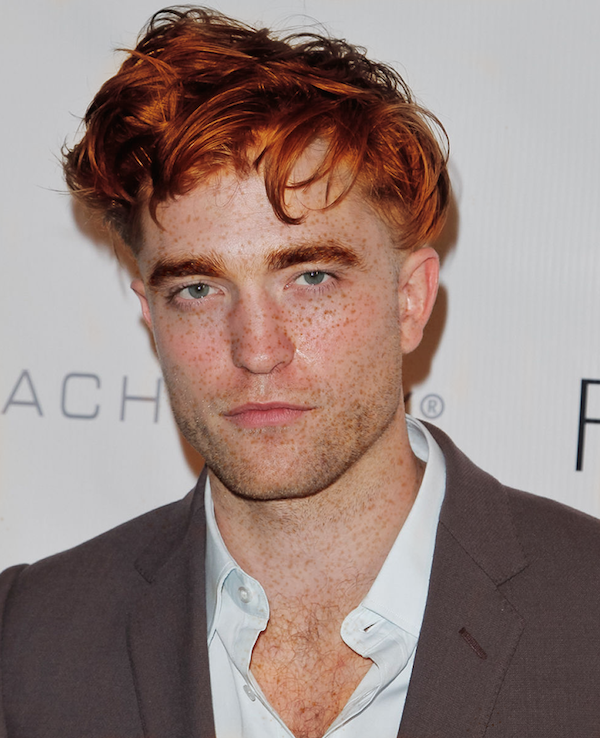 robert pattinson red