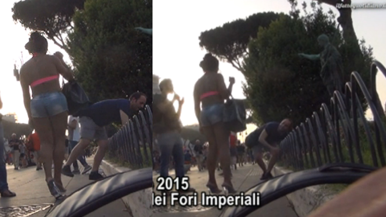 gay pride roma trans picchia video