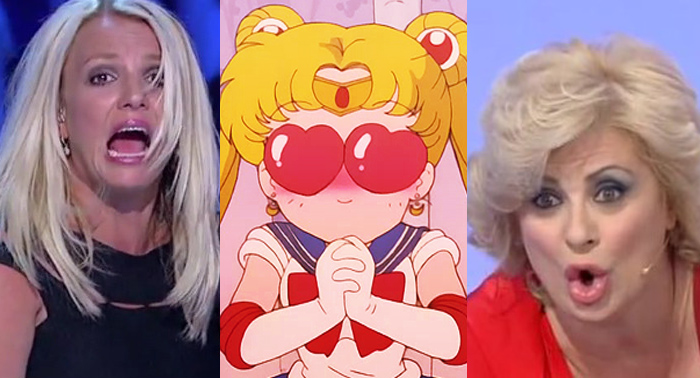 tina cipollari sailor moon britney spears