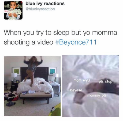 7 11 blue ivy beyonce funny