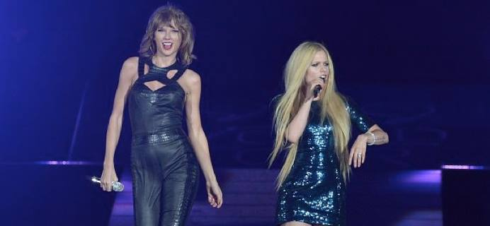Taylor Swift Avril Lavigne