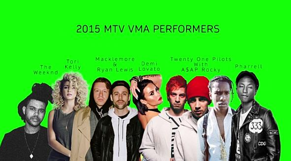 VMA PERFORMERS