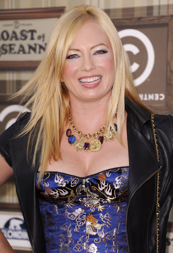 The red carpet for Comedy Central's Roast of Roseanne Barr held at The Hollywood Paladium in Hollywood, California. Pictured: Traci Lords Ref: SPL423642  040812   Picture by: Rob Latour for LE / Splash News Splash News and Pictures Los Angeles:	310-821-2666 New York:	212-619-2666 London:	870-934-2666 photodesk@splashnews.com