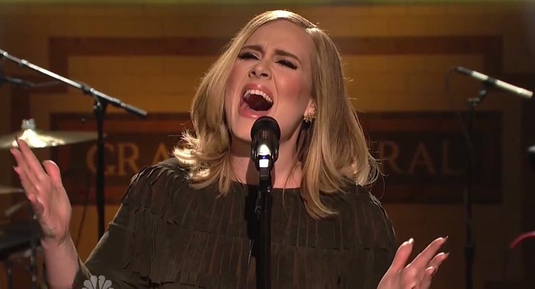 Adele-SNL-mic-feed-audio