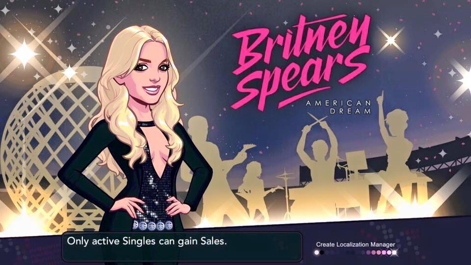 Britney Spears game