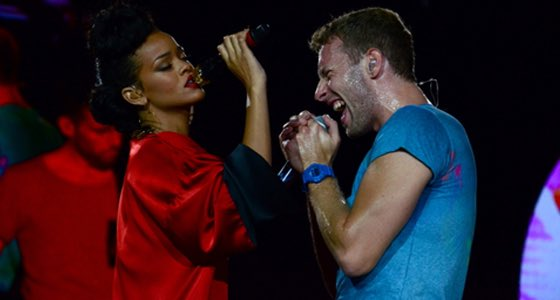 Rihanna Coldplay