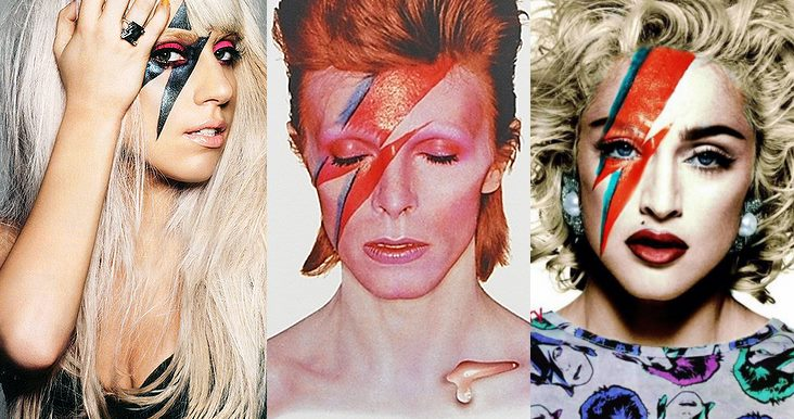 lady gaga david bowie madonna