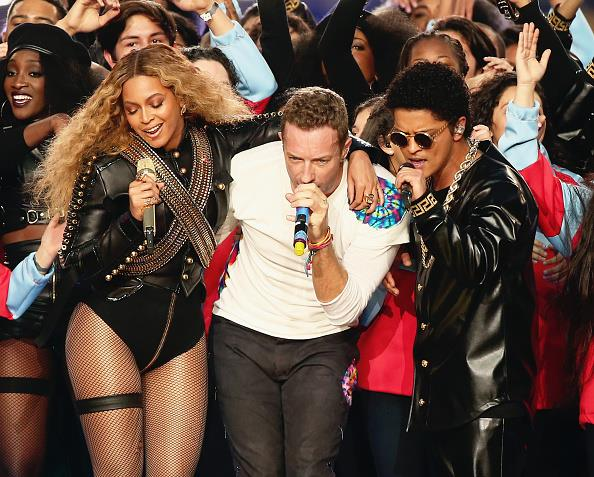 beyonce coldplay bruno mars