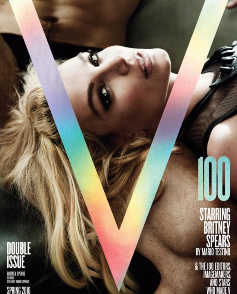 Britney Spears V Magazine 2