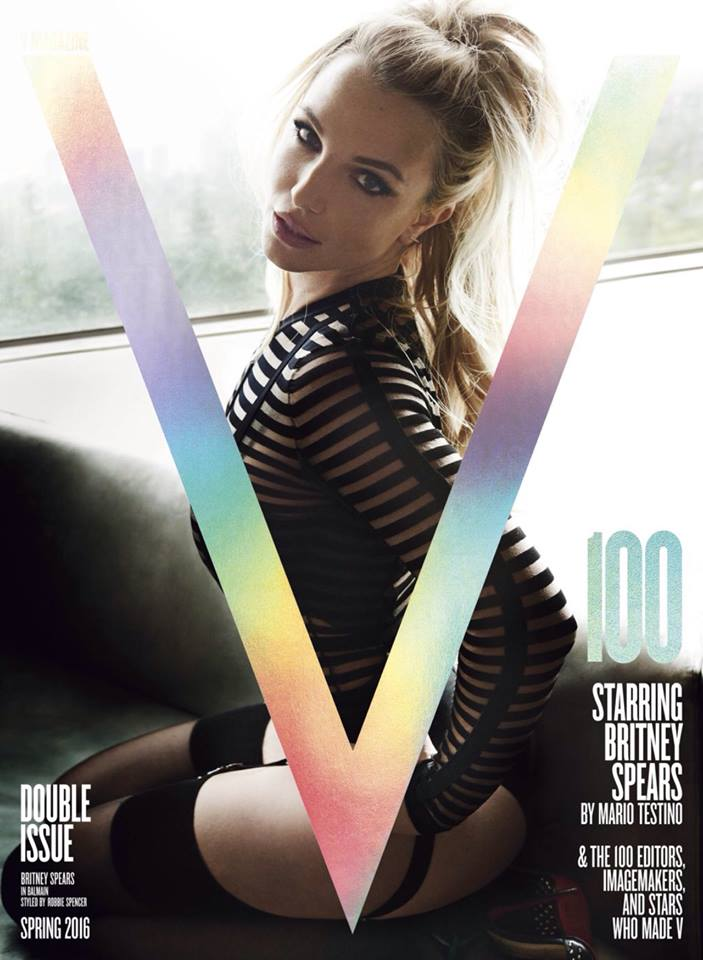 Britney Spears V Magazine 3