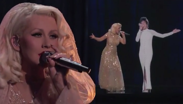 christina-aguilera-whitney-houston-leak-video-duet-ologram