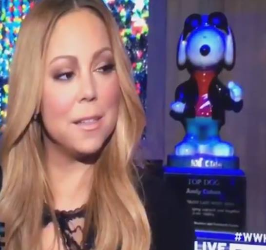 mariah carey shade nicki minaj