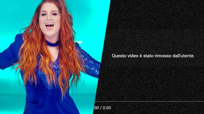 "Meghan Trainor toglie da Vevo il video ""Me Too"" per l ..."
